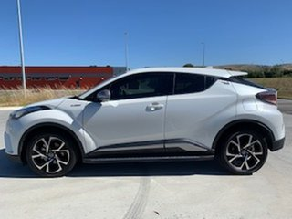 2017 Toyota C-HR NGX10R Koba S-CVT 2WD White 7 Speed Constant Variable Wagon.
