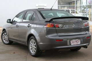 2010 Mitsubishi Lancer CJ MY11 SX Grey 6 Speed Constant Variable Sedan.