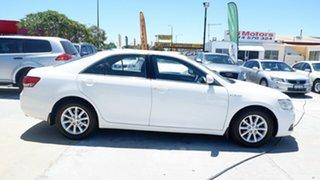 2011 Toyota Aurion GSV40R MY10 AT-X White 6 Speed Sports Automatic Sedan