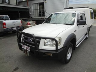 2007 Ford Ranger PJ XL (4x4) White 5 Speed Automatic Dual Cab Pick-up