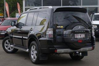 2011 Mitsubishi Pajero NT MY11 GLX Black 5 Speed Sports Automatic Wagon