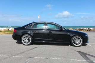 2009 Audi A4 B8 8K MY10 S Tronic Quattro Black 7 Speed Auto Sportshift Sedan.