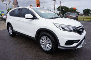 2015 Honda CR-V RM Series II MY17 VTi 4WD Taffeta White 5 Speed Sports Automatic Wagon