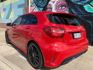 2017 Mercedes-Benz A-Class W176 808MY A200 D-CT Red/Black 7 Speed Sports Automatic Dual Clutch