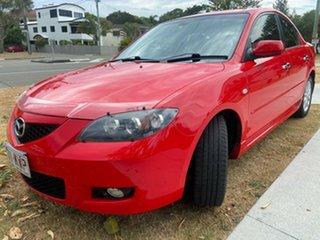 2008 Mazda 3 BK10F2 Maxx Sport Red 4 Speed Sports Automatic Sedan.