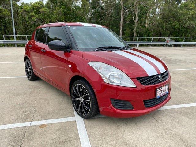 Used Suzuki Swift FZ GA Morayfield, 2013 Suzuki Swift FZ GA Red 5 Speed Manual Hatchback