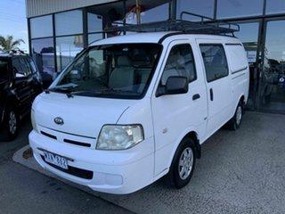 2004 Kia Pregio CT White 5 Speed Manual Van