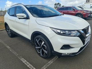 2017 Nissan Qashqai J11 Series 2 ST-L X-tronic White 1 Speed Constant Variable Wagon.