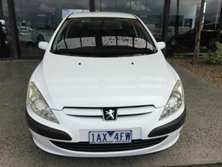 2004 Peugeot 307 XS HDi Touring White 5 Speed Manual Wagon.