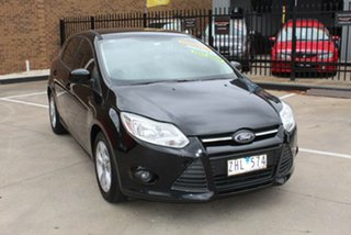 2012 Ford Focus LW MK2 Trend Black 6 Speed Automatic Hatchback.