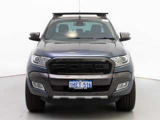 2015 Ford Ranger PX MkII Wildtrak 3.2 (4x4) Grey 6 Speed Automatic Dual Cab Pick-up.