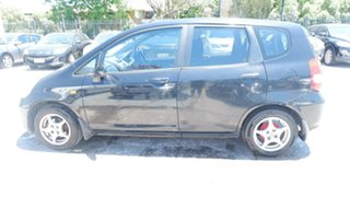 2002 Honda Jazz GD GLi Black 5 Speed Manual Hatchback
