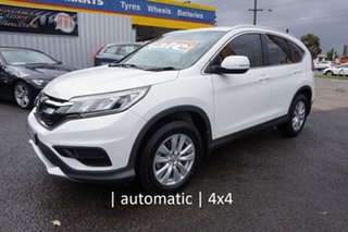 2015 Honda CR-V RM Series II MY17 VTi 4WD Taffeta White 5 Speed Sports Automatic Wagon.