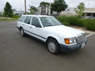 1986 Mercedes-Benz 230 W124 TE White Automatic Wagon.