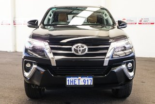 2017 Toyota Fortuner GUN156R MY18 Crusade Eclipse Black 6 Speed Automatic Wagon