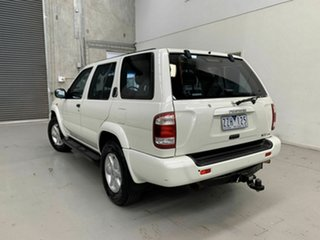 2002 Nissan Pathfinder WX II MY2002 ST Plus White 4 Speed Automatic Wagon
