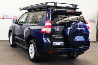 2015 Toyota Landcruiser Prado KDJ150R MY14 GXL (4x4) Dynamic Blue 5 Speed Sequential Auto Wagon.