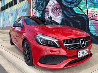 2017 Mercedes-Benz A-Class W176 808MY A200 D-CT Red/Black 7 Speed Sports Automatic Dual Clutch.