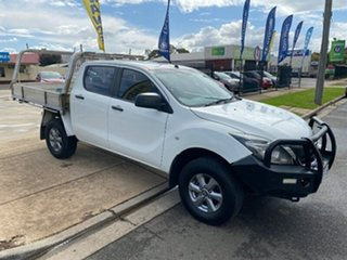 2015 Mazda BT-50 UR0YF1 XT 4x2 Hi-Rider White 6 Speed Sports Automatic Utility.