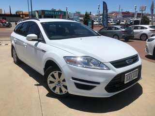 2012 Ford Mondeo MC LX White 6 Speed Automatic Wagon