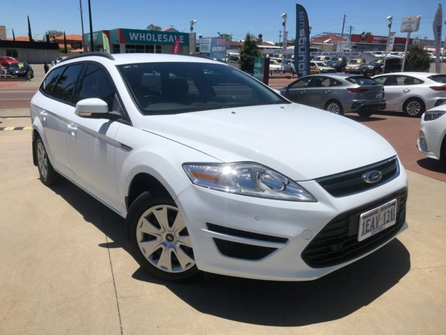 Used Ford Mondeo MC LX Victoria Park, 2012 Ford Mondeo MC LX White 6 Speed Automatic Wagon