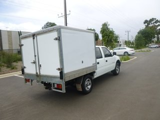2002 Holden Rodeo TF LX White Manual Utility.