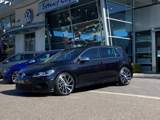 2020 Volkswagen Golf 7.5 MY20 R DSG 4MOTION Black 7 Speed Sports Automatic Dual Clutch Hatchback.