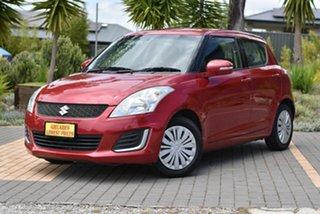 2014 Suzuki Swift FZ MY14 GL Red 5 Speed Manual Hatchback.