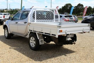 2014 Mitsubishi Triton MN MY14 Update GLX (4x4) Silver 5 Speed Manual 4x4 Double Cab Chassis