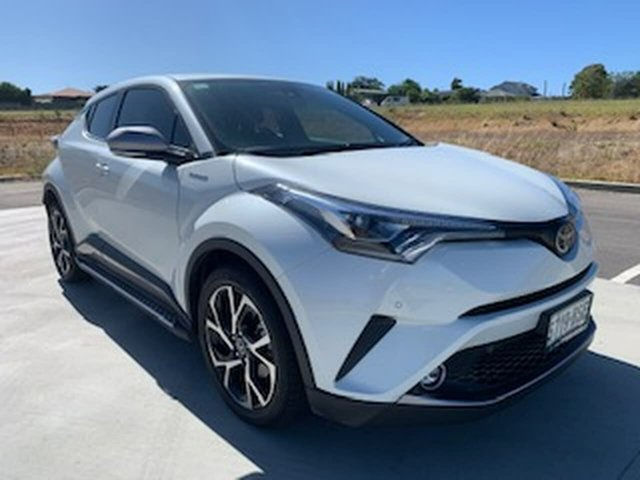 Used Toyota C-HR NGX10R Koba S-CVT 2WD Victor Harbor, 2017 Toyota C-HR NGX10R Koba S-CVT 2WD White 7 Speed Constant Variable Wagon