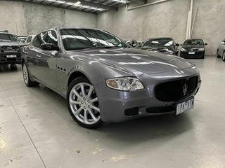 2007 Maserati Quattroporte Executive GT Grey 6 Speed Sports Automatic Sedan.