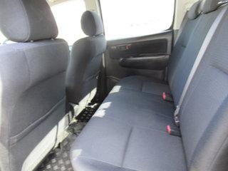 2014 Toyota Hilux KUN26R SR White 5 Speed Automatic Dual Cab