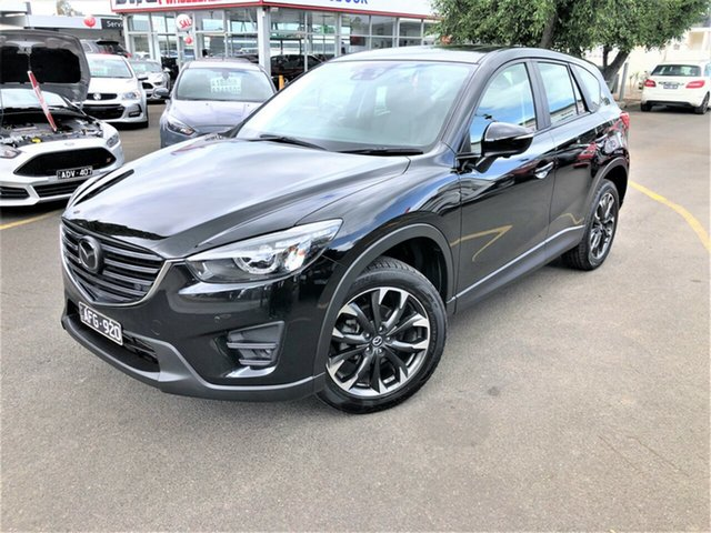 Used Mazda CX-5 KE1022 Akera SKYACTIV-Drive AWD Seaford, 2015 Mazda CX-5 KE1022 Akera SKYACTIV-Drive AWD Black 6 Speed Sports Automatic Wagon