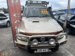 2005 Nissan Patrol GU IV MY05 ST Gold 4 Speed Automatic Wagon
