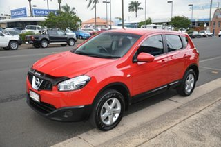 2012 Nissan Dualis J10 Series 3 ST (4x2) Red 6 Speed CVT Auto Sequential Wagon