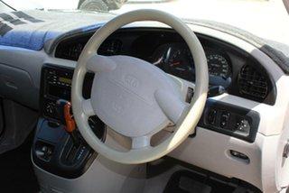 2003 Kia Carnival LS Burgundy 4 Speed Automatic Wagon
