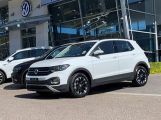 2020 Volkswagen T-Cross C1 MY21 85TSI DSG FWD Life White 7 Speed Sports Automatic Dual Clutch Wagon.