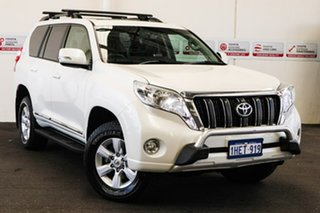 2014 Toyota Landcruiser Prado KDJ150R MY14 Altitude (4x4) Crystal Pearl 5 Speed Sequential Auto.