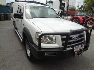 2007 Ford Ranger PJ XL (4x4) White 5 Speed Automatic Dual Cab Pick-up.