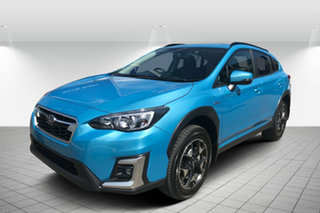 2020 Subaru XV G5X MY20 Hybrid Lineartronic AWD Lagoon Blue 7 Speed Constant Variable Wagon.
