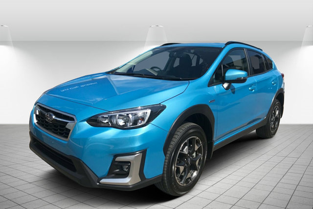 Used Subaru XV G5X MY20 Hybrid Lineartronic AWD Hervey Bay, 2020 Subaru XV G5X MY20 Hybrid Lineartronic AWD Lagoon Blue 7 Speed Constant Variable Wagon