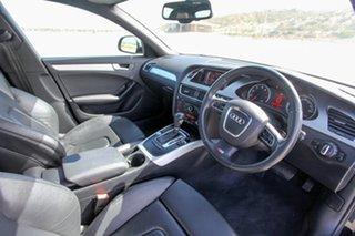 2009 Audi A4 B8 8K MY10 S Tronic Quattro Black 7 Speed Auto Sportshift Sedan