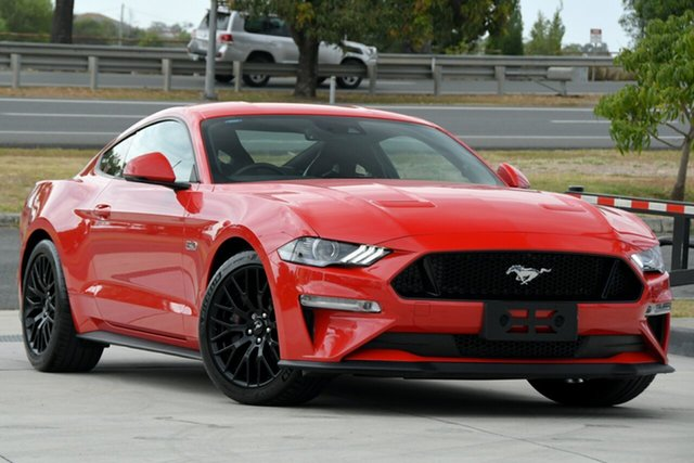 Used Ford Mustang FN 2018MY GT Fastback SelectShift North Lakes, 2018 Ford Mustang FN 2018MY GT Fastback SelectShift Red 10 Speed Sports Automatic Fastback