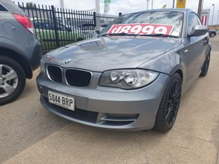 2009 BMW 1 Series E82 125i Silver 6 Speed Automatic Coupe.