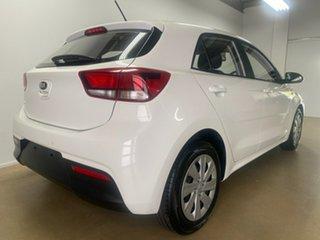 2018 Kia Rio YB MY19 S White 6 Speed Manual Hatchback.