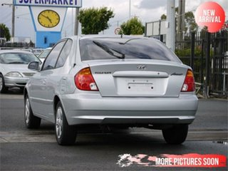 2006 Hyundai Accent LS 1.6 Silver 4 Speed Automatic Hatchback.