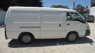 2007 Mitsubishi Express SJ M07 MWB White 5 Speed Manual Van
