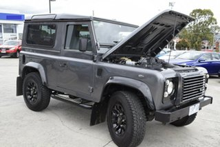 2014 Land Rover Defender 90 15MY Grey 6 Speed Manual Wagon
