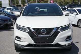 2019 Nissan Qashqai J11 Series 2 Ti X-tronic White 1 Speed Constant Variable Wagon.