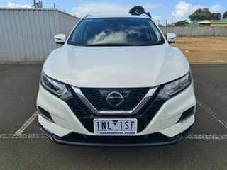2017 Nissan Qashqai J11 Series 2 ST-L X-tronic White 1 Speed Constant Variable Wagon